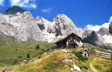 Das Senner Haus bei der Regensburger Hütte