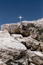 Zum Gipfelkreuz auf dem Piz Duleda, 31.7.