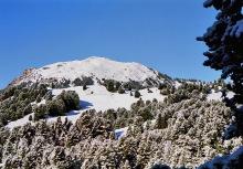 Schneebedeckter Pic Berg, 13.9.
