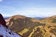 Blick zum Pic Berg aus der Piz Scharte, 16.9.