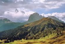 Pic Berg und Langkofel - der nächste Regen naht, 17.9.