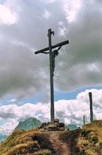 Das Kruzifix auf der Seceda, 17.9.