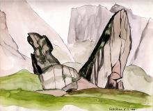 Die Cisle Steine, 8.7.