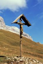 Kruzifix auf dem Weg zum Kriegerdenkmal, 21.9.