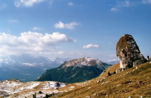 Blick auf den Pic Berg, 25.9.