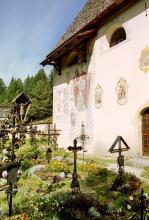 Fresken an der Außenwand der Jakobskirche, 18.9.01