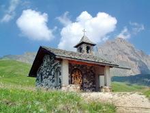 Die Kapelle auf der Mastle Alm, 03.07.
