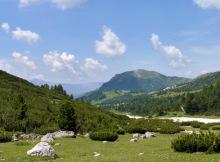 Blick zum Pic Berg vom Wasserrinnental, 1.7.