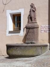 Trinkwasserbrunnen von 1899 in St. Christina, 5.7.