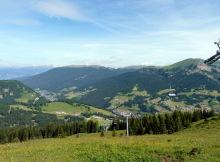 Blick nach St. Christina und St. Ulrich, 7.7.