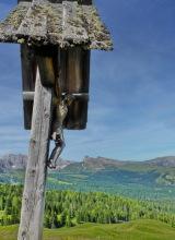 Kruzifix auf dem Monte Seura, 7.7.