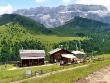 Die Monte Seura Hütte, 7.7.