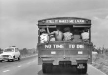 Still it makes me laugh - No time to die