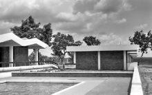 Das Motel im Mole Game Reserve, 1963