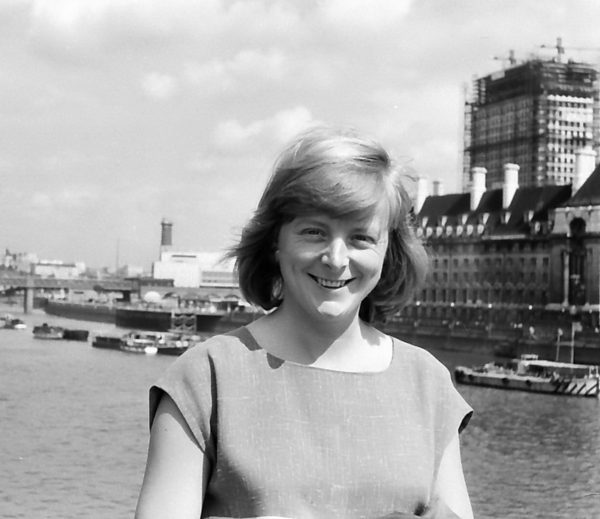 27 Jahre alt in London als Stadtplanerin, 1959